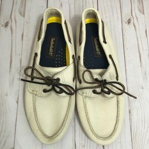 🌻 Timberland Leather Boat Shoes